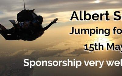 Albert Smith Jumping for Joy