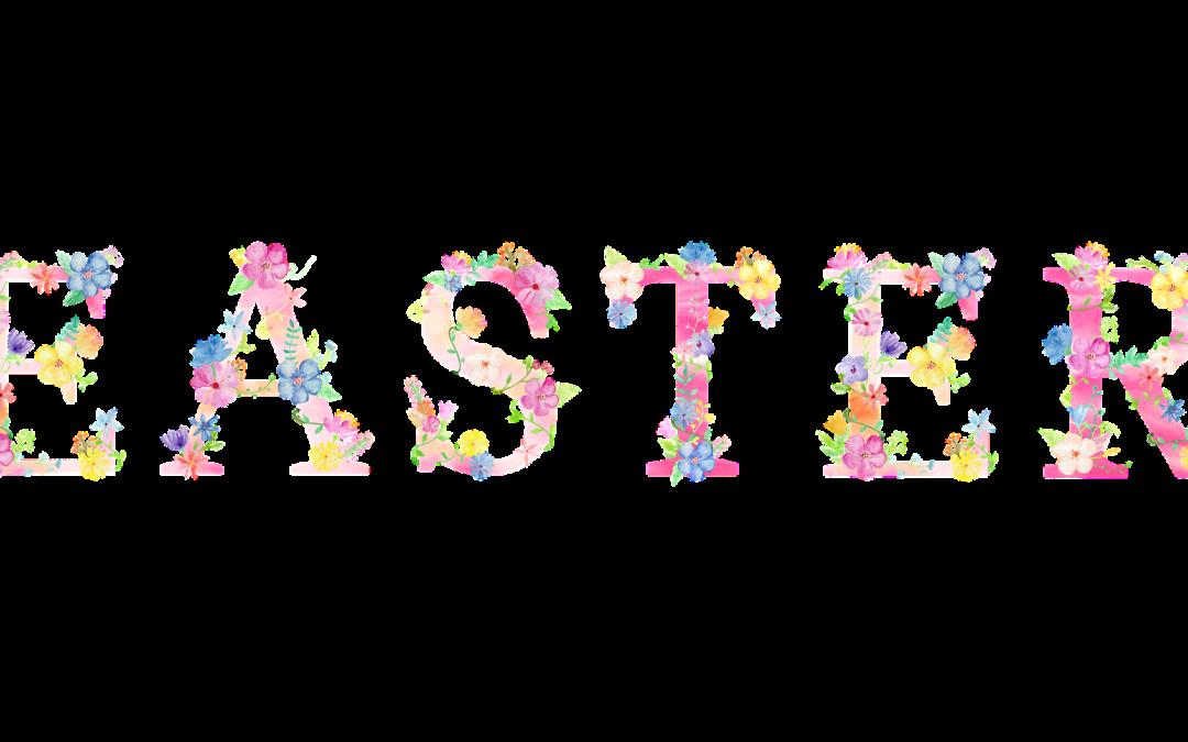 Easter Flowers 2021 in Memory of