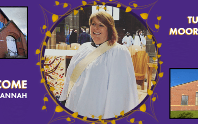 Welcome to our new curate Rev'd Hannah Lane